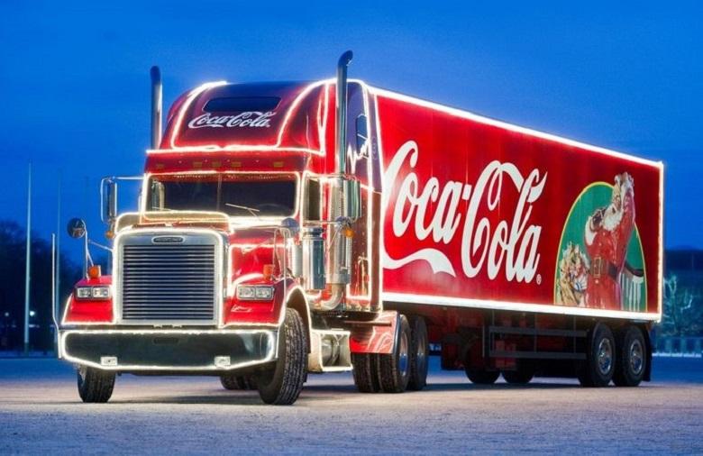 Coca-Cola Жаңа жыл