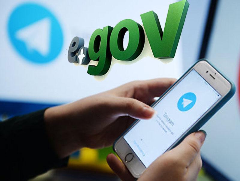 EgovKzBot Telegram-боты ұсынатын қолжетімді қызметтер