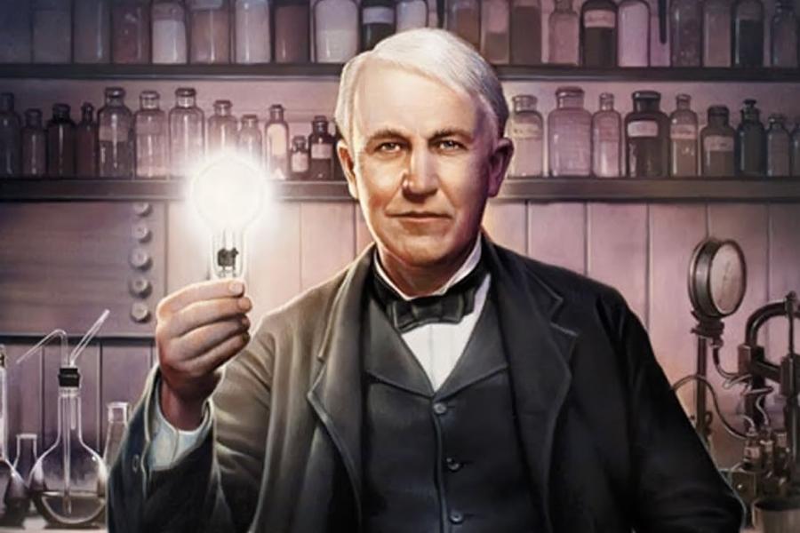 Томас Эдисонның шабыттандыратын сөздері, Томас Эдисон, электр,