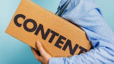 контенттің түрлері